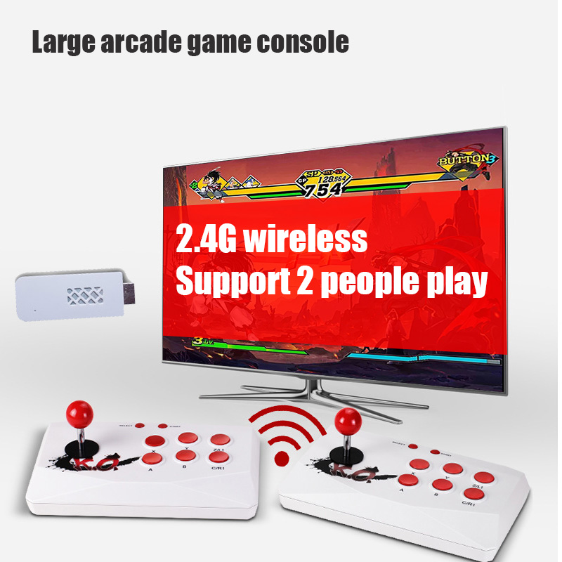 Console Extend Game-Player Video-Game Arcade Double-Controller Wireless Hdmi-Out Can