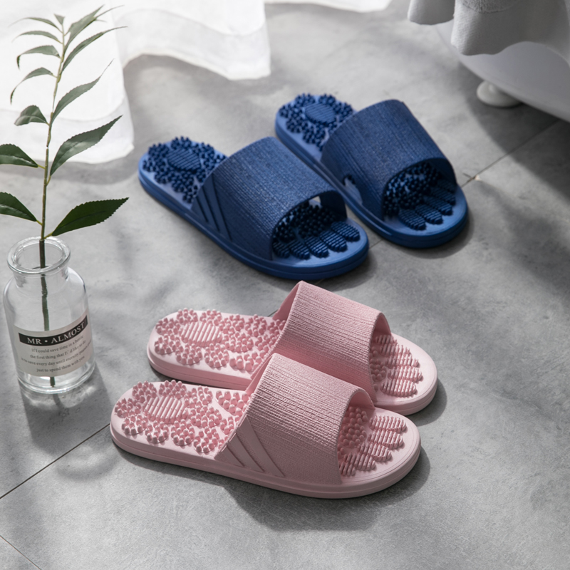 Massage Slipper Shoes Unisex Summer Slipper Acupoint Healthcare Slipper Health Rotating Accupressure Foot Slippers