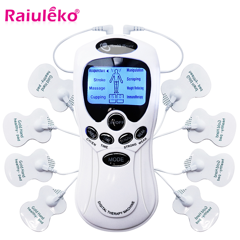 Health Tens Muscle Neck Back Massager Electric Digital Therapy Machine Massage Electronic Pulse Stimulator for Full Body Care