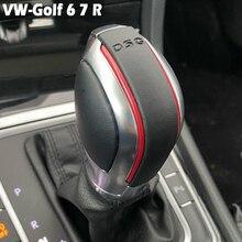 การปรับเปลี่ยน Chrome Matte เกียร์ DSG ฝาครอบสำหรับโฟล์คสวาเก้น VW กอล์ฟ6 7 R GTI Passat B7 B8 CC R20 Jetta MK6 GLI