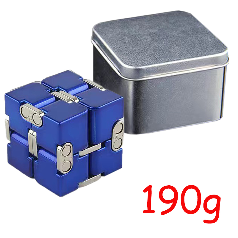 Cube-Toys Infinity-Cube EDC Metal Relief Magical Anxiety Aluminium for Deformation Premium img4