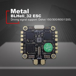 HAKRC ESC 4-In-1 50A 3-6S BLHeli_32 5V 3A BEC Dshot1200 Mini Size ESC for DIY FPV Racing Drone With Heat Dissipation