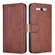 For Samsung Galaxy S3 S III I9300 GT-I9300 4.8''Cover On Samsung S3 Shell Coque S 3 Wallet Leather Kickstand Case