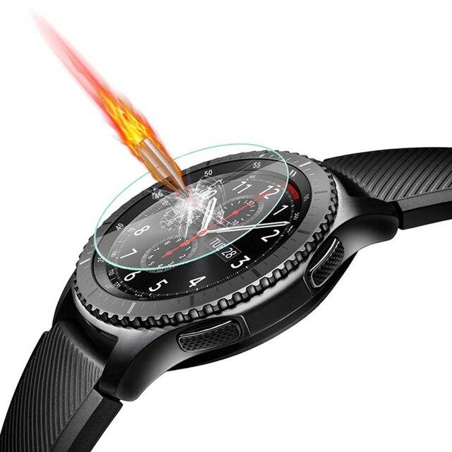 Laofurta Nieuwe Gehard Glas Screen Protector Voor Samsung Galaxy Horloge 46 Mm 42 Mm 9 H Beschermende Glas Film Fit voor Samsung Gear S3