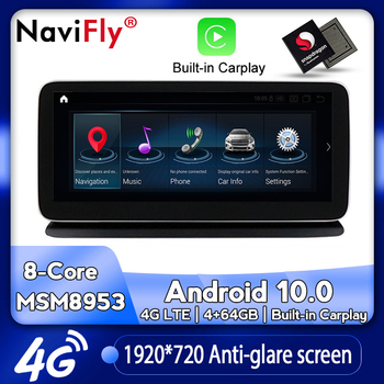 NaviFly Android 10 Car dvd radio multimedia Player GPS Navigation for Mercedes Benz CLS Class W218 CLS300 CLS350 CLS500 CLS250 image