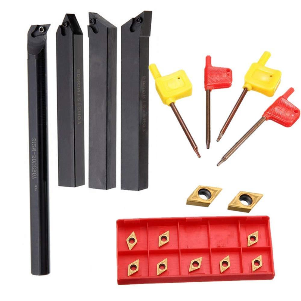 SDJCR1010H07 SDJCR1212H07 SDJCR1616H07 SDJCR2020K07 For DCMT070204 Carbide Inserts CNC Lathe Turning Tool Holder Turning Insert