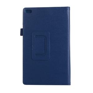 2017 For lenovo tab 4 8 case TB-8504 Cover Flip Litchi PU Case for lenovo tab 4 8 case TB-8504F TB-8504N 8504X Tablet Folio Case