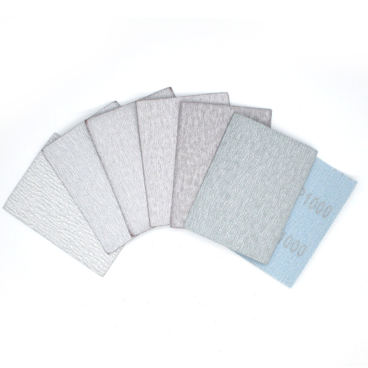 75*100 Small Squares Woven Nap Flocking Sandpaper Pieces Sandpaper Self-Adhesive Sandpaper Metal Polishing Sandpaper