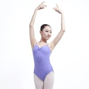 Image 2 - Maillot de Ballet para Mujer, vestido Gimnástico de Ballet, vestido de práctica de baile para adulto, traje de cuerpo de una pieza, Darling XC 2544