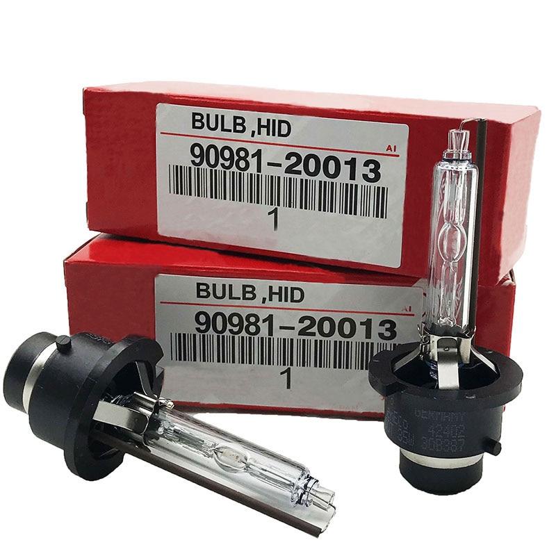 2PCS NEW OEM 2PCS 35W D1S D2S D2R D3S D4S D4R Xenon HID Bulb 4300K 4500K 5000K 5500K 6000K 8000K HID Xenon Lamp D2S Xenon Bulb