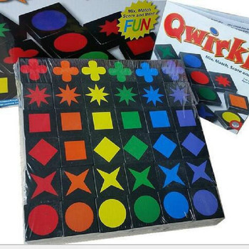 New Educational Educational Toys Qwirkle Wooden Chess Parent-child Interactive Game Toys Children And Adult Toys image