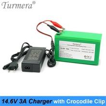 14.6 вольт 5А заряжатель батареи LiFePO4 4Series 12.8 в 14.4 В 7ач 10ач 100Ач батареи 20ah LiFePO4 батареи смарт-зарядное устройство + зажим