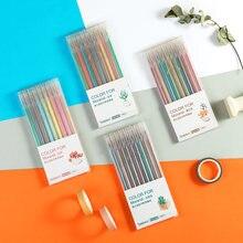 Цветная гелевая ручка morandi 9 шт/компл стержень 05 мм кавайная