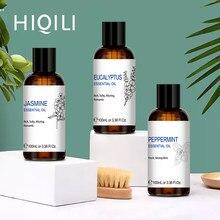 Hiqili 3oz alfazema óleos essenciais 100ml difusor aroma óleo zimbro clary sálvia agulhas de manjericão citronela pimenta cipreste