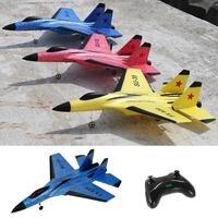 RC Plane Toy FX 820 2.4G 2CH SU 35 Outdoor RTF Radio Remote Control Airplane Toy Glider Airplane Model For Children Gifts