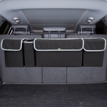 Adjustable Car Trunk Organizer Backseat Storage Bag High Capacity Multi-use Oxford Automobile Seat Back Organizers