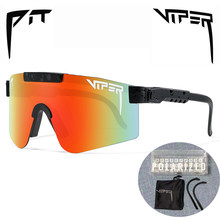 PIT VIPER BRAND Polarized Fishing Glasses Outdoor Sungasses MTB Sport Goggles UV400 Bike Bicycle Eyewear with Original Box