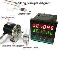 Hoge Precisie Intelligente Elektronische Dubbele Digitale Meter Teller JK76 Met Encoder Stappenmotor Controller-in Tellers van Gereedschap op