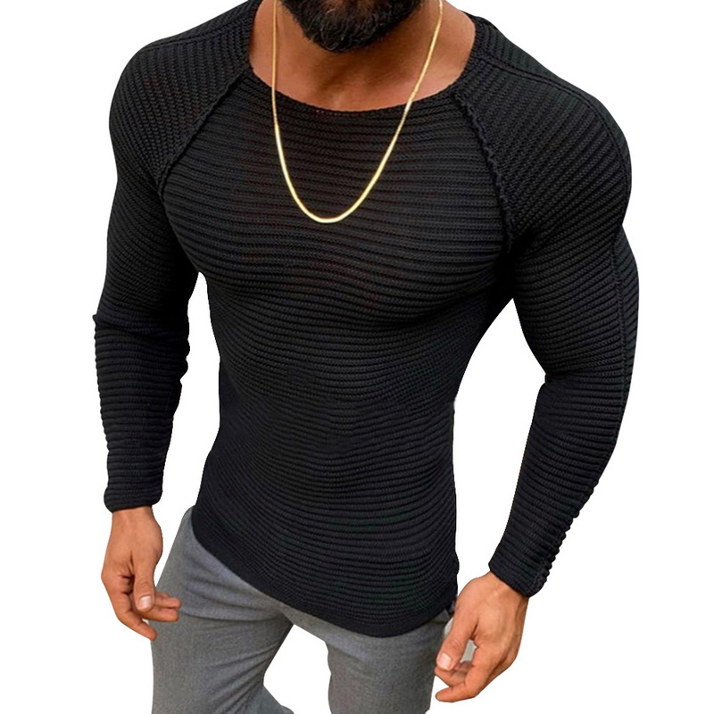 Mens Casual Fitness Top,Males Fashion Long Sleeve V Neck Solid Buttons Slim Fit Jumper Pullover Blouse Muscle Shirts