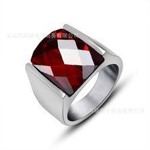 Квадратные циркониевые стандартные винтажные титановые кольца