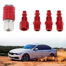 "Conector de aire de coche 1/4 ""NPT, conector de manguera de aire accesorio compresor hembra/macho para Toyota Honda Nissan VW Ford, accesorio para coche"