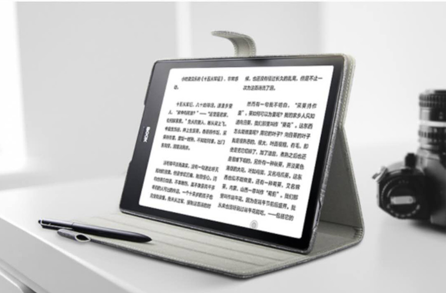 Image 5 - Boox Note Holster Embedded Original Ebook Case Stand Smart Cover  For Onyx Boox NOTE Protective Case Free ShippingeBook Reader   -