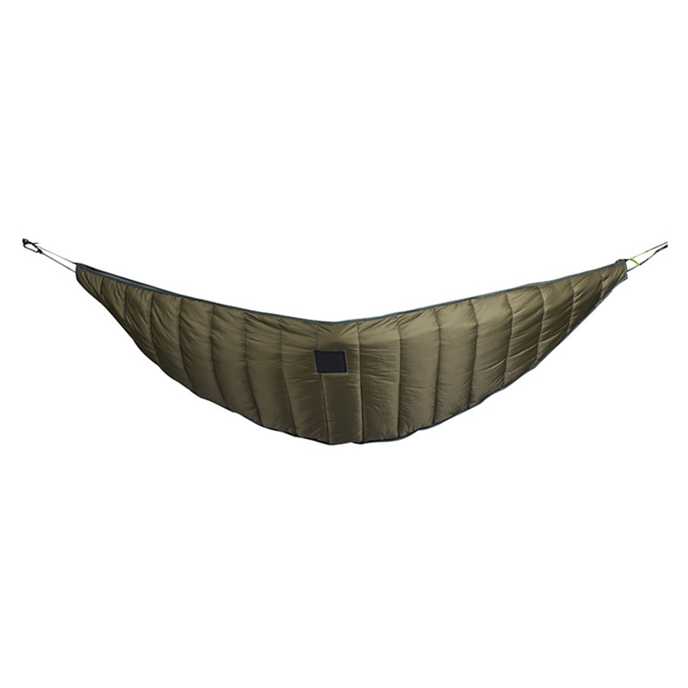 Foldable Camping Full Length Cotton Blanket Ultralight Winter Warm Portable Army Green Thicken Hammock Outdoor Underquilt