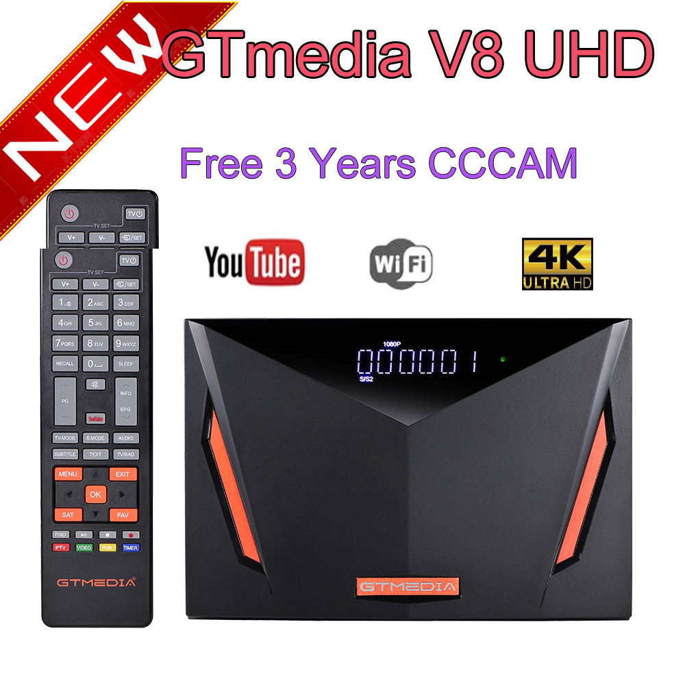 Gtmedia V8 UHD DVB S2/S2X DVB T2 DVB C ATSC C ISDBT Встроенный Wi Fi Спутниковый тв приемник VS V8X V8 NOVA pro2 gt медиа V7S|Спутниковое ТВ|   | АлиЭкспресс