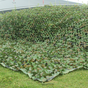 1.5x6m/2x5m/2x6m/5x3m Camping Camo Net Army Woodland Jungle Camouflage Nets Hunting Shooting Shelter Hide Netting Sun Shelter(China)