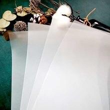 Feuille de velour transparente A4 pour Scrapbooking, planificateur heureux, Photo, fabrication de cartes, projet de journalisation, bricolage, 2020