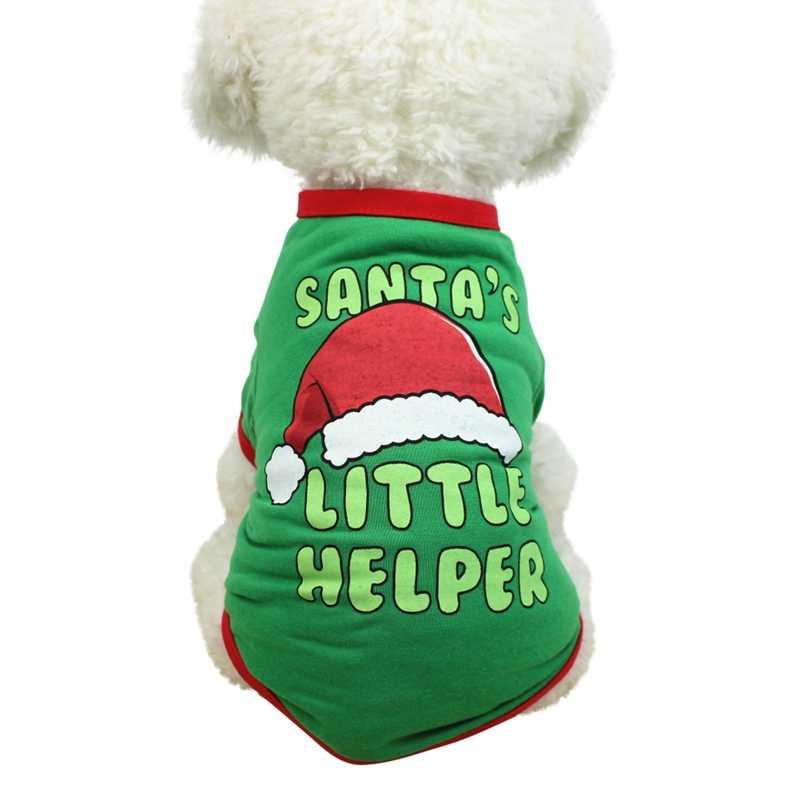 Nuovo Anno Vestiti Del Cane Chihuahua Inverno Del Cane di Natale Del Partito Del Costume Pet Vestiti Caldi Dell'animale Domestico Del Gatto Del Cappotto Vestiti per Cani Cappotti