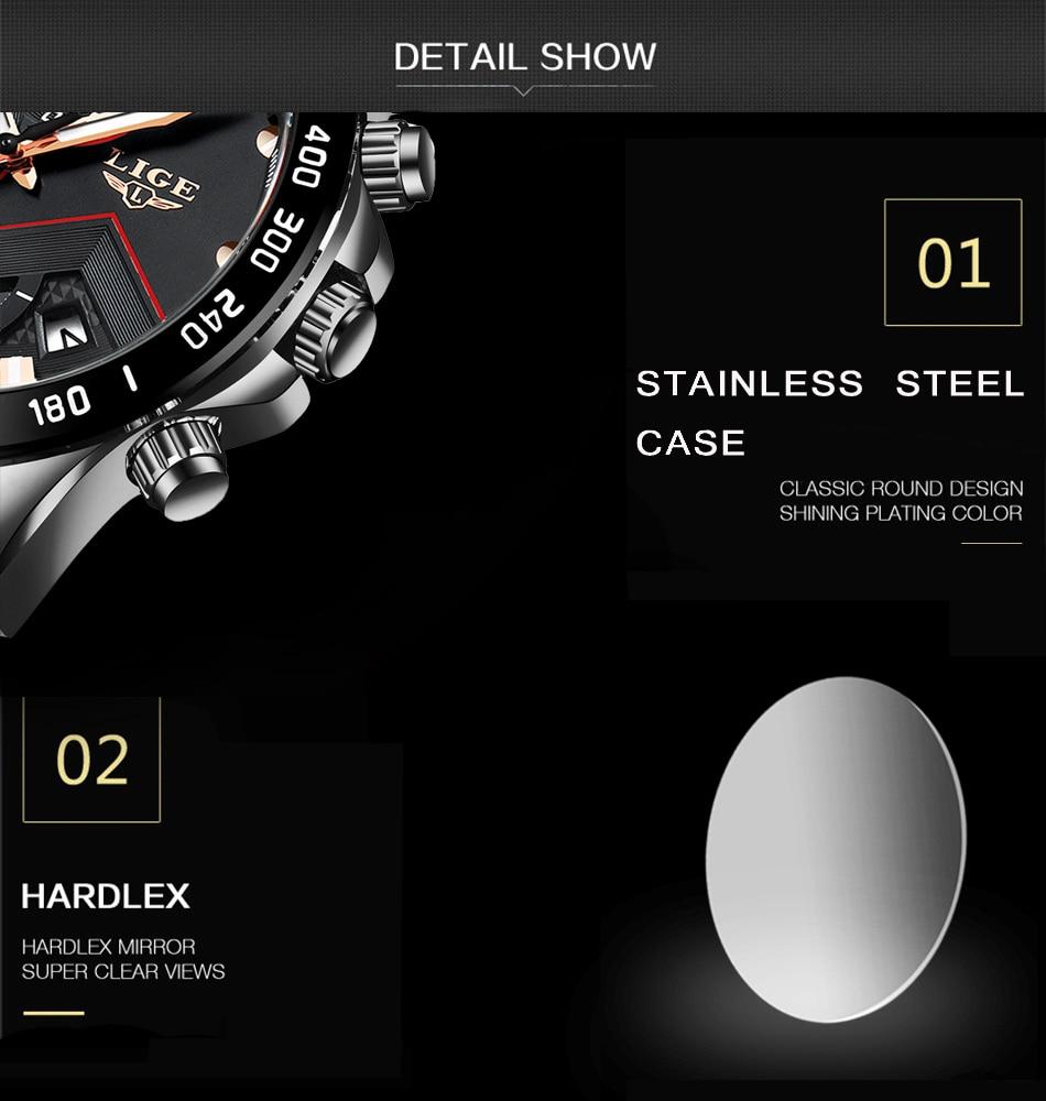 Hdb1701e2ac3540dd9a34a3167db510deA 2020 LIGE Fashion Mens Watches Stainless Steel Top Brand Luxury Sport Chronograph Quartz Watch Men Black Watch Relogio Masculino