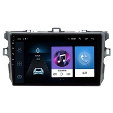 2 Din Android 9.0 Car Radio Player Multimídia para Toyota Corolla E140/150 2007 2008 2009 2010 2011 2012 2013 2014 2015 2016(China)