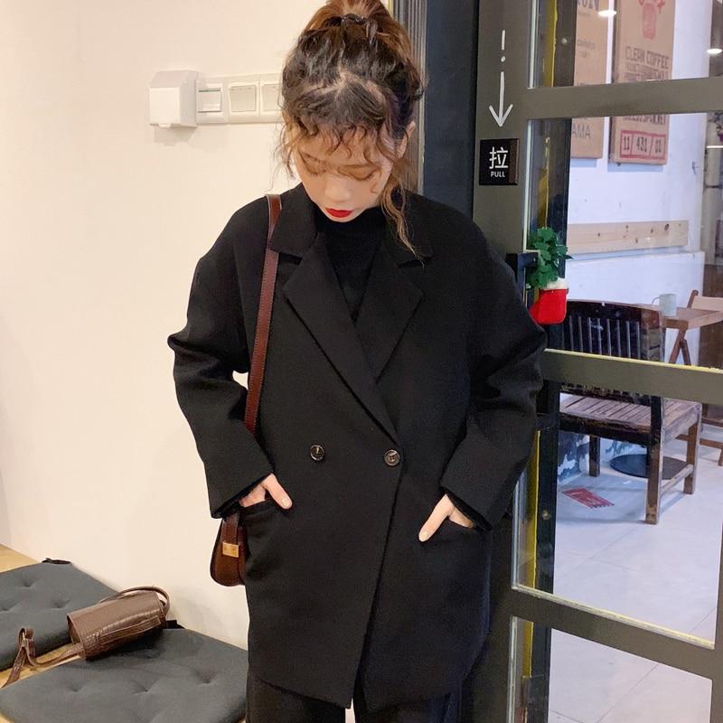 Spring Autumn Women's Jacket Clothes 2020 Korean Blazer Feminina Casual Suit Wild Blazer Women Coat Outerwear Womens Tops ZT1950