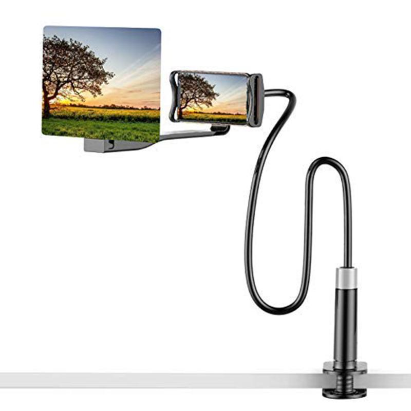 8/12/14inch Mobile Phone High Definition Video Screen Magnifier Rack Projection Bracket Portable Video Screen Magnifier