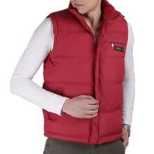Men's Vest Sleeveless Jacket Casual Waistcoat Overcoats-Gilet Down Warm Thick Plus-Size