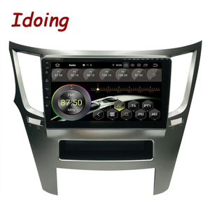 "Image 2 - Idoing 9 ""PX5 4G + 64G Octa Core Auto Android9.0 Radio Multimedia Speler Voor Subaru Outback Legacy 2009 2014 Gps Navigatie 2.5D Ips"