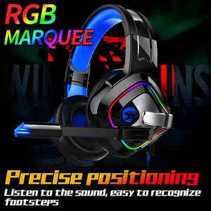 Image 5 - PS4 Gaming Headphones 4D Stereo RGB Marquee Earphones Headset with Microphone for New Xbox One/Laptop/Computer Tablet Gamer