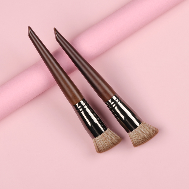 OVW NEW Foundation Brush Series Soft Duo Use Powder Liquid Brushes Concealer Blusher Cream Brushes Mask Brush 1PC 2
