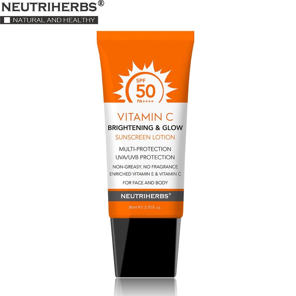 SPF 50/30 Facial Sunscreen Body Whitening Cream Sunblock Skin Protective Cream Anti-Aging Oil-control Moisturizing Face Skin