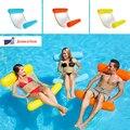 Надувная надувная плавающая кровать с водным гамаком  плавательный бассейн  плавающий плавательный матрас  кольцо для плавания на море