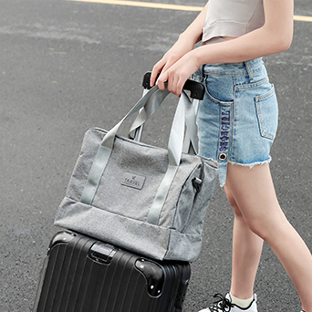 Travel Large Capacity Foldable Luggage Bag Clothes Organizer Storage Carry-On Bags