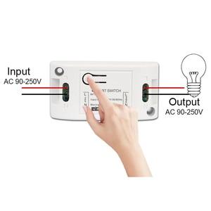 Image 2 - Rubrum AC 110V 220V 433Mhz Universal Relay 1CH Wireless Remote Control Switch Receiver Module & RF 433 Mhz Remote Controls DIY