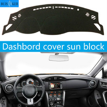 For Toyota 86 GT86 FT86 12-18 Dashboard Cover Sun Shade Non-slip Dash Mat Pad Carpet Car Stickers Interior Accessories car dashboard cover for toyota noah voxy 2014 2019 right hand drive auto sun shade dash mat dash pad carpet anti uv non slip 1pc