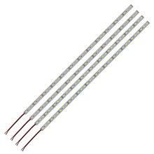 5 шт. 20 шт. Светодиодная панель из алюминия светильник жесткой полосы светодиодный светильник 25 см 50 см 5054 DC12V 18 светодиодный 36 светодиодный шкаф счетчик светильник s синий/зеленый/розовый