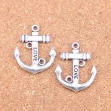 28pcs Charms anchor 30x25mm Antique Pendants,Vintage Tibetan Silver Jewelry,DIY for bracelet necklace