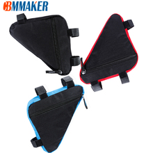Pouch Saddle-Bag Frame-Holder Front-Tube-Frame-Bag Mountain-Bike Cycling Triangle Waterproof