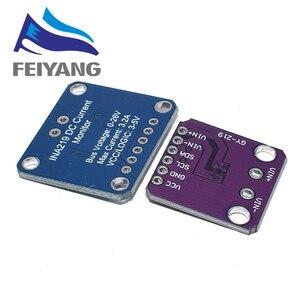 Image 2 - 10 قطعة INA219 GY 219 مصدر إمداد بالتيار الاستشعار لوحة القطع وحدة الاستشعار وحدة I2C واجهة عالية الجانب تيار مستمر الحالي لتقوم بها بنفسك عدة