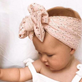 Big Bow Baby Girl Headband Soft Mesh Baby Turban Hedband Toddler Kids Headwear Elastic Infant Newborn Baby Hair Accessories