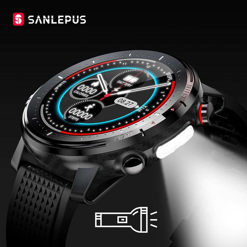 Новинка 2021, Смарт-часы SANLEPUS IP68, водонепроницаемые Смарт-часы для мужчин и женщин, спортивный фитнес-браслет, часы для Android, Apple, Huawei SW155